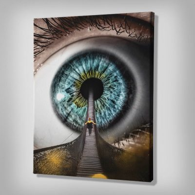 All Seeing Canvas Art