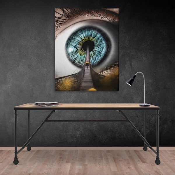 All Seeing Canvas Artwork