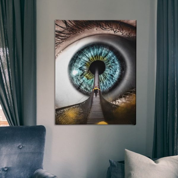 All Seeing Canvas wall decor