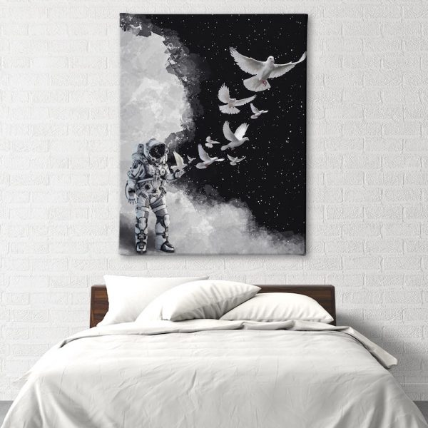 Astro Dove Space Home Decor