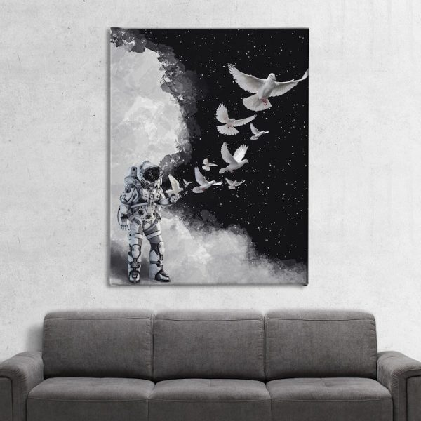 Astro Dove Space artwork