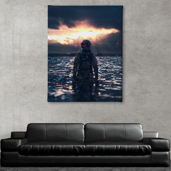 Behind The Mask Canvas Art