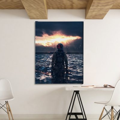 Behind The Mask Canvas home decor