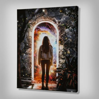 Cellar Door Canvas painting