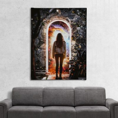 Cellar Door Canvas Art