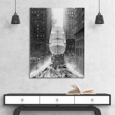Pirates of Manhattan Canvas Wall Artwork
