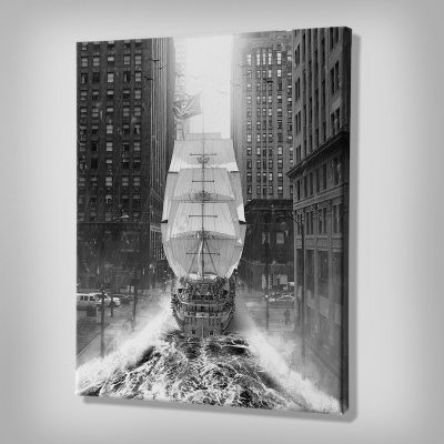 Pirates of Manhattan Canvas Wall Art