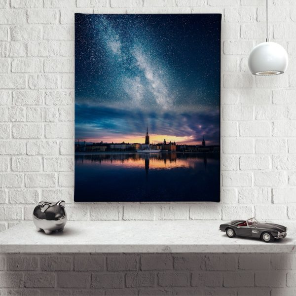 Rays of Golden Canvas artwork