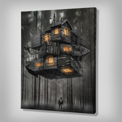 Ark Rebel Canvas Artwork - Rubiks House