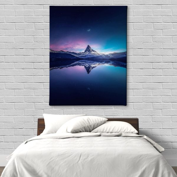Ark Rebel Matterhorn Canvas Art