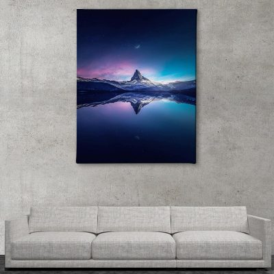 Ark Rebel Matterhorn Large Canvas Art