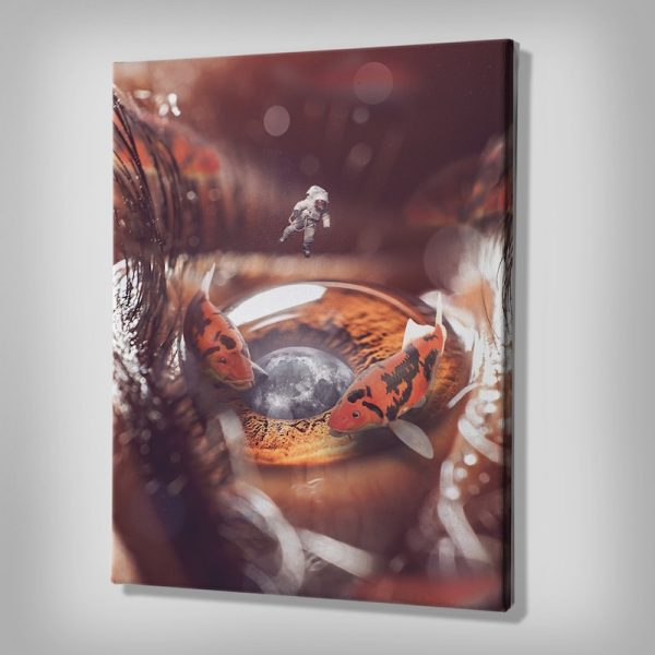 The Koi Pond Canvas Art