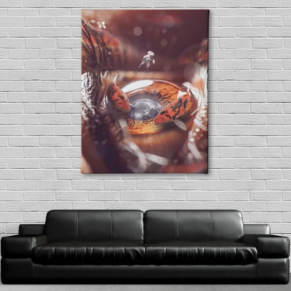 The Koi Pond Canvas decor