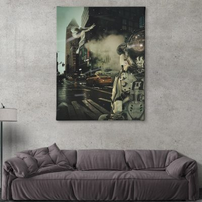 Ark Rebel The Loner Large Canvas Wall Artwork