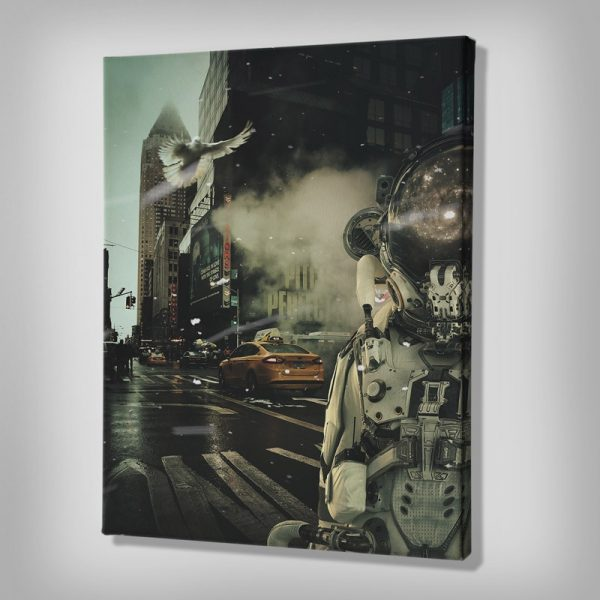 Ark Rebel The Loner Canvas Wall Artwork