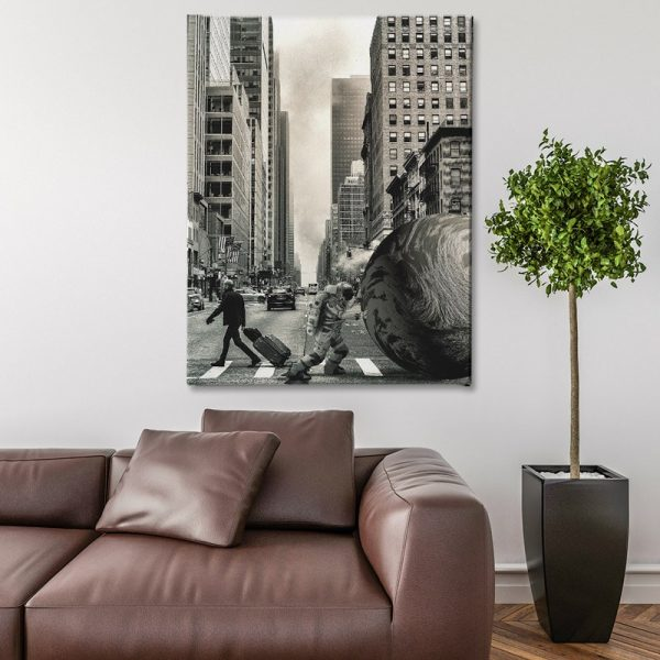 Ark Rebel The Struggle Large Canvas Wall Art For Living Room