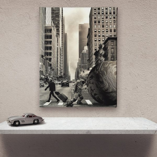 Ark Rebel The Struggle Wall Art For Living Room