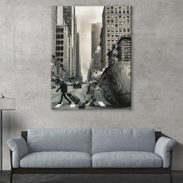 Ark Rebel The Struggle Large Wall Art For Living Rooms