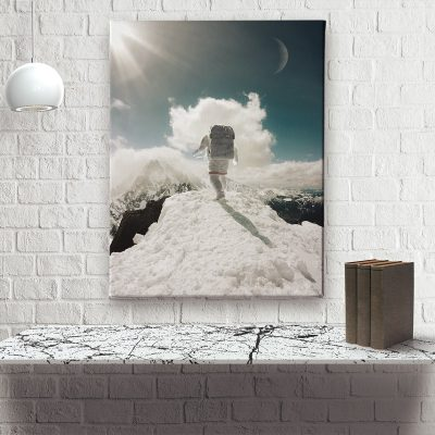 Ark Rebel Top of The World Large Stretched Canvas Wall Art collection