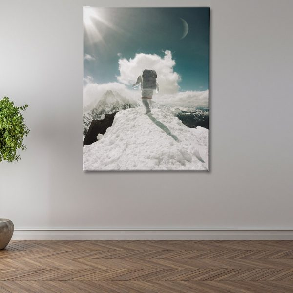 Ark Rebel Top of The World Stretched Canvas Wall Art