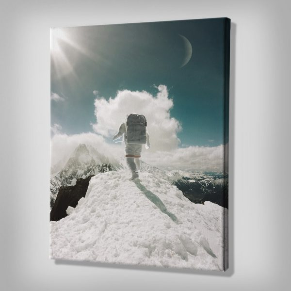 Ark Rebel Top of The World Large Stretched Canvas Wall Art