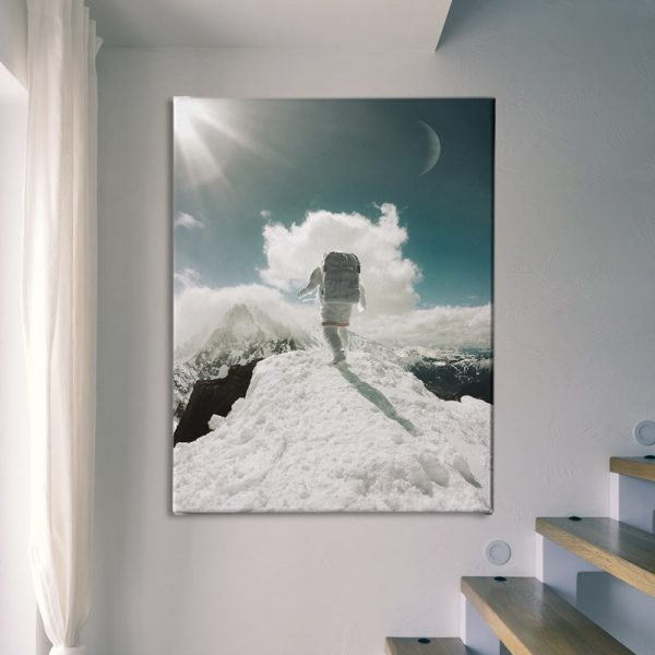 Ark Rebel Top of The World Large Stretched Canvas Wall Artwork