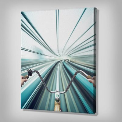 Warp Speed Canvas wall art