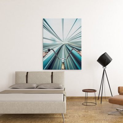 Warp Speed Canvas art