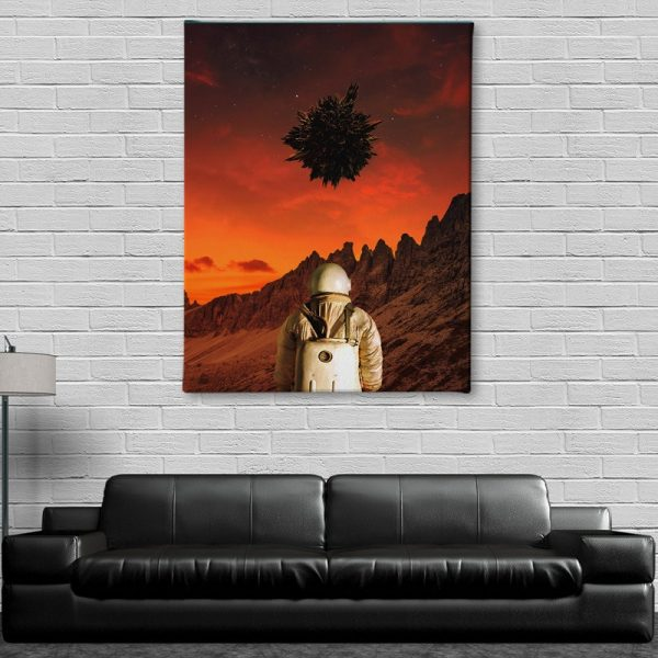 Ark Rebel We're Not Alone Wall Art on Canvas