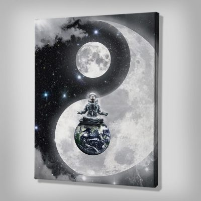 Yin-Yang Canvas wall arkwork