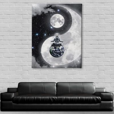 Yin-Yang Canvas wall home decor