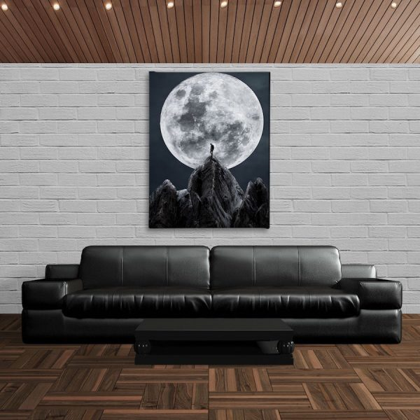 You're Not Alone Wall Canvas artwork