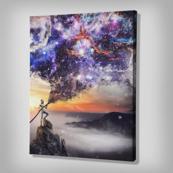 Extinguish Reality Canvas Art