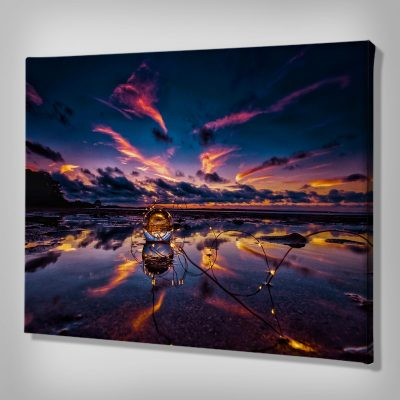 Ark Rebel Crystal Sky Canvas Wall Art