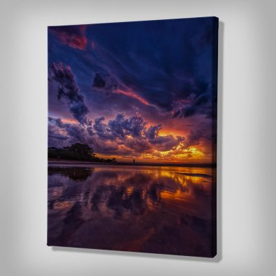 Ark Rebel Fiery Sky Bathroom Wall Decor