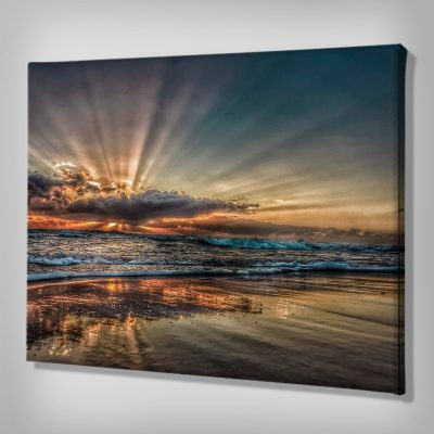 Ark Rebel Hidden Gem Sunrise Canvas Wall Decor
