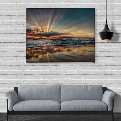 Ark Rebel Hidden Gem Sunrise Large Canvas Wall Art