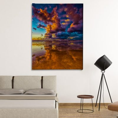 Ark Rebel Ocean's Blue Living Room Canvas Wall Decor