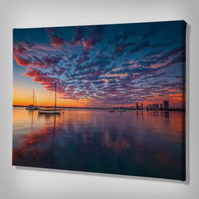 Ark Rebel Paradise Dreams Sailboat Wall Art