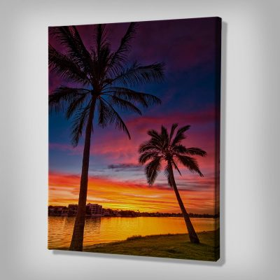 Ark Rebel Pink Palms Beach house Decor