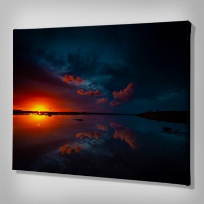 Ark Rebel The Night's Glow Sunset Canvas Photography