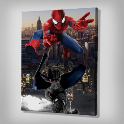 Ark Rebel Alter Ego Spiderman Canvas Art
