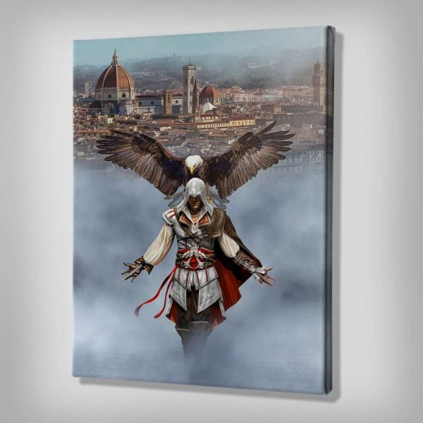 Ark Rebel Ezio Auditore From Florence Assassin's Creed Wall Art