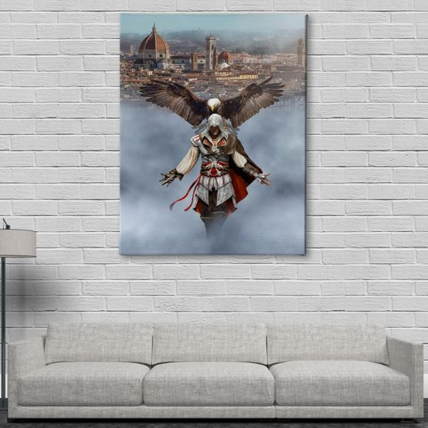 Ark Rebel Ezio Auditore From Florence Assassin's Creed Wall Decor