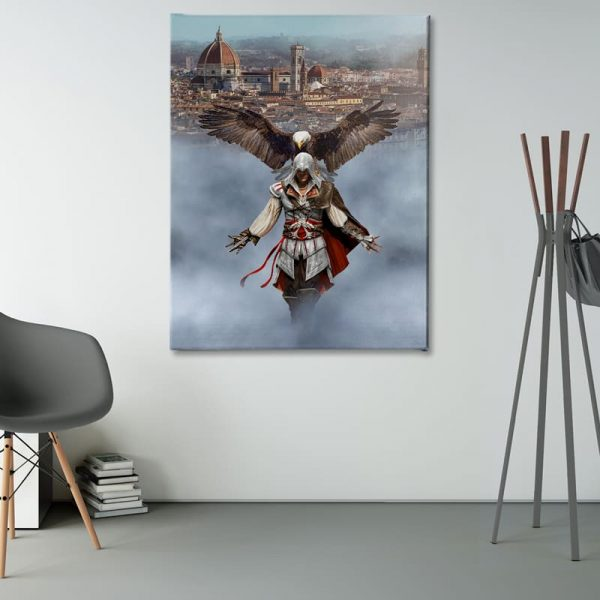 Ark Rebel Ezio Auditore From Florence Assassin's Creed Canvas Art