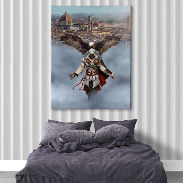 Ark Rebel Ezio Auditore From Florence Assassin's Creed Home Decor