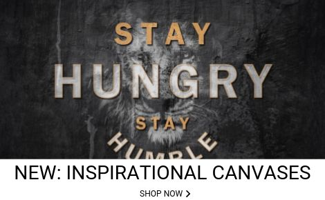 Ark Rebel Stay Hungry Stay Humble Wall Art