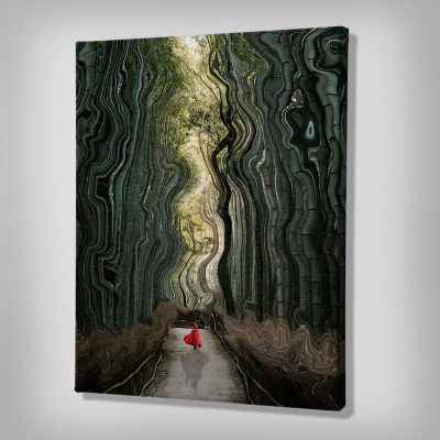 Ark Rebel Little Red Riding Hood Fairy Tale Wall Art