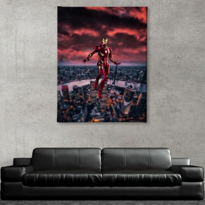 Ark Rebel Love You 3000 Iron Man Big Wall Art