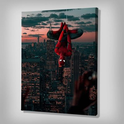 Ark Rebel Spiderman Homecoming Marvel Canvas Art